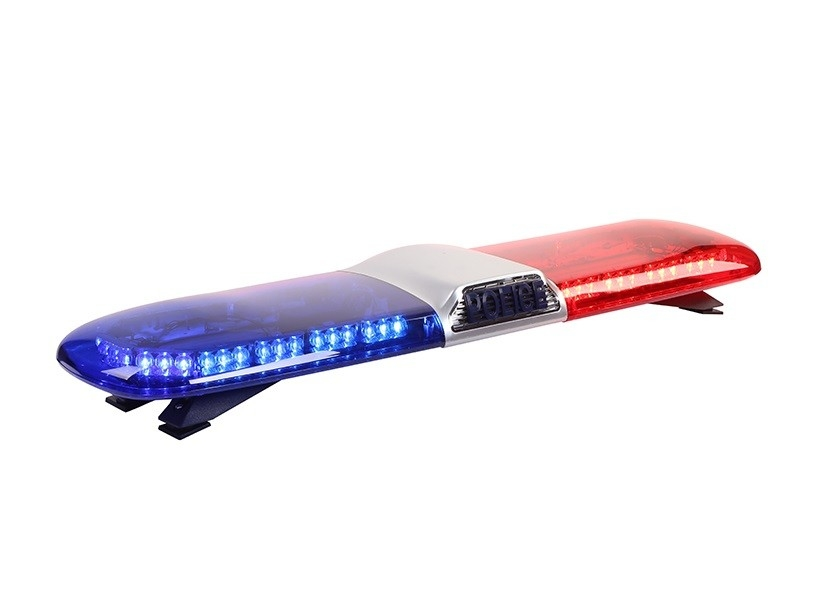 Emergency Warning Police LED Light Bar Roof Mounted Low Profile IP65 Waterproof
