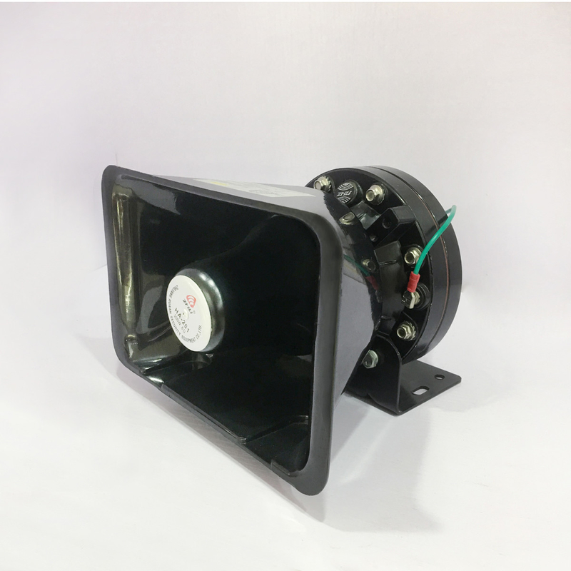 100W Emergency Police Siren Horn , Fire Truck / Ambulance Siren Speaker