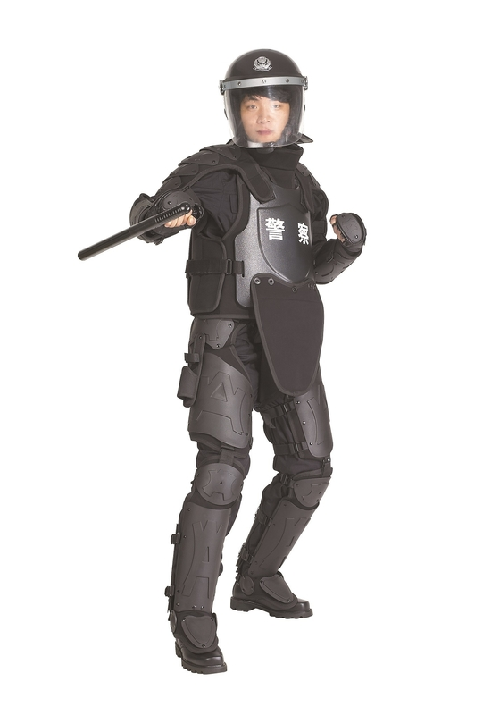 Anti Riot Suit With Bag 120 Joule Impact Resist , Military Police Protective Gear