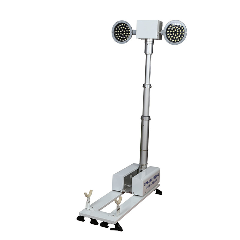 1.8M Police Safety Equipment Vehicle Mounted Light Tower For Emergency Illumination