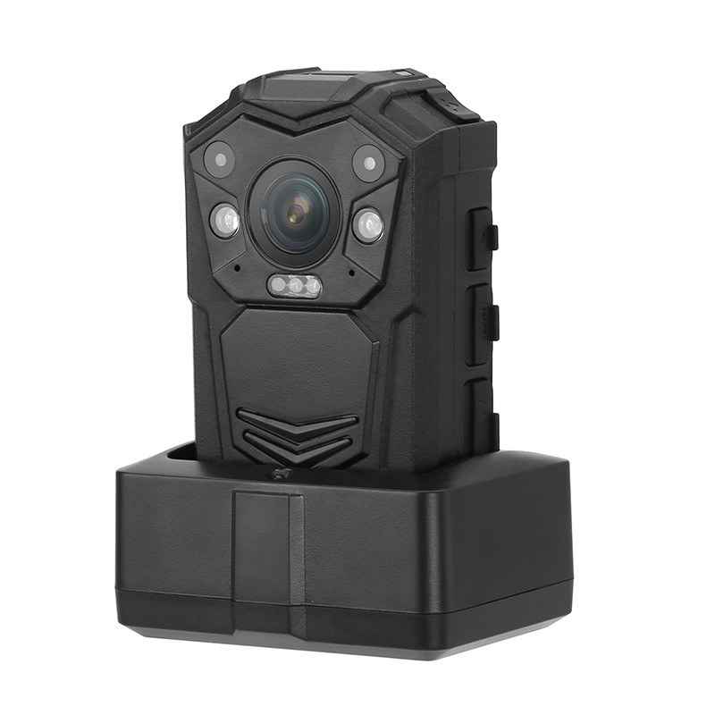 32GB Law Enforcement Police Body Worn Camera With Infrared LED For Video Recording